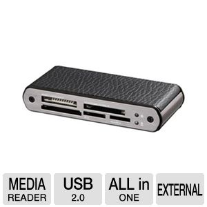 Ultra LeatherX USB 2.0 All-in-One Card Reader