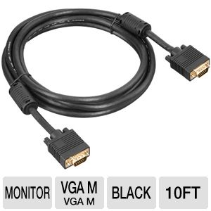 Ultra VGA Cable 10ft/3M 1920x1200 Max Res.