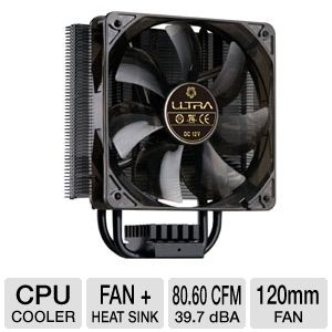 Ultra U12-40654 Carbon X3 Multi-Socket CPU Cooler