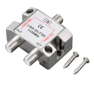 Ultra U12-40826 2-Way 2500MHz Coaxial Splitter
