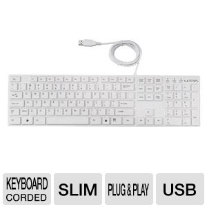 Ultra U12-40866 Slim USB Keyboard