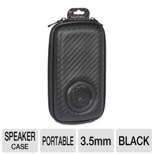 Ultra U12-40977 Carbon Portable Speaker Case