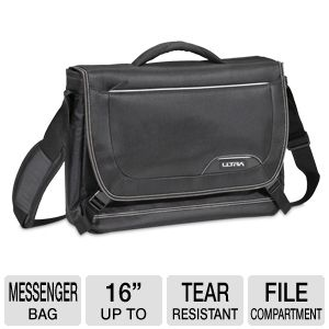 Ultra Defender Notebook Messenger Bag - Up to 16""