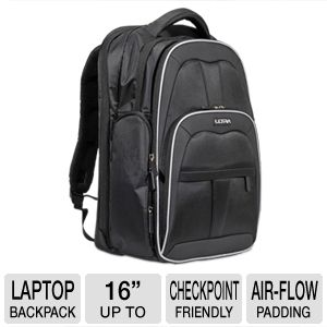 Ultra Knight Notebook Backpack - Up to 16""