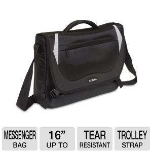 Ultra Knight Notebook Messenger Bag - Up to 16""