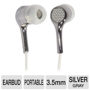 Ultra Carbon 2.0 Noise Isolating Earbuds (Silver)