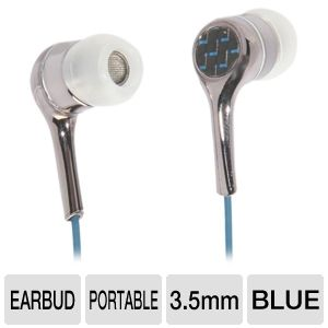 Ultra Carbon 2.0 Noise Isolating Earbuds (Blue)