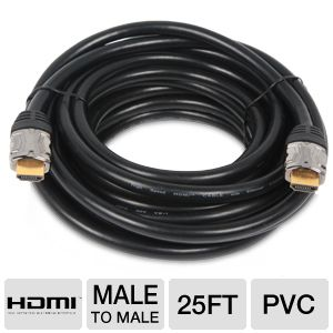 Ultra High-Speed 25FT HDMI Cable with Ethernet