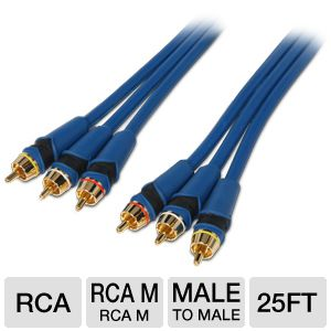 Ultra 25FT Composite RCA Audio/Video Cable