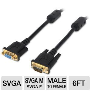 Ultra 6FT SVGA Video Extension Cable