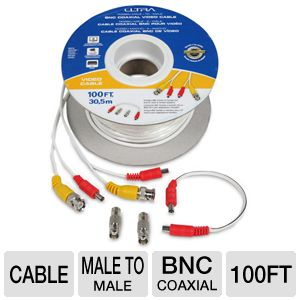 Ultra RG58/U Male-To-Male BNC Coaxial Video Cable
