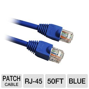 Ultra 50FT Cat6 550MHz UTP Stranded Patch Cable