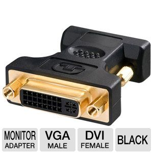 Ultra VGA Male to DVI Female Adapter