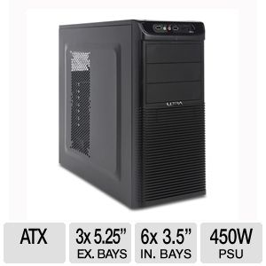 Ultra X-Blaster Mid-Tower V2 Case with 450W PSU