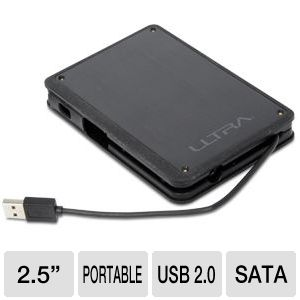 Ultra Aluminus USB 2.0 Portable HD Enclosure