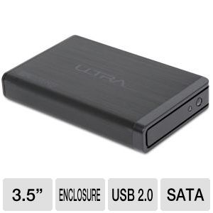 Ultra Aluminus USB 2.0 Hard Drive Enclosure