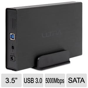 Ultra Aluminus USB 3.0 External HD Enclosure