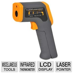 Ultra Non-Contact Infrared Thermometer w/ Laser
