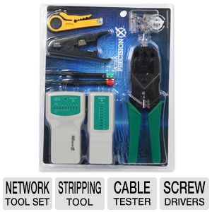 Ultra Precision-X 4-Piece Network Tool Set