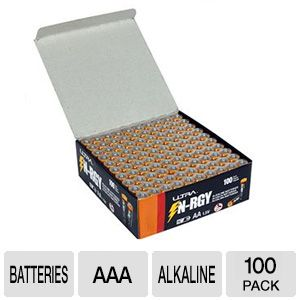 Ultra N-RGY AAA Alkaline Batteries