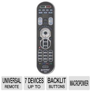 Universal Remote Control URC-WR7 7 Device Remote