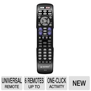 URC URC-A6 6 Device Universal Remote Control