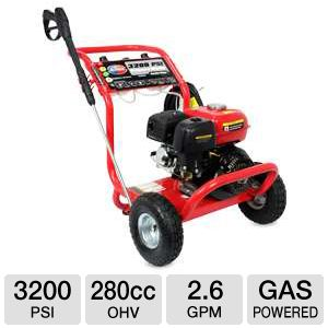 All Power 3200PSI 208cc OHV Gas Pressure Washer