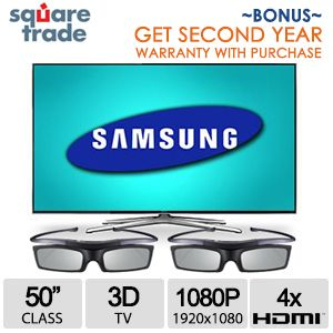 Samsung UN50H6400 & Free 2nd Year Warranty