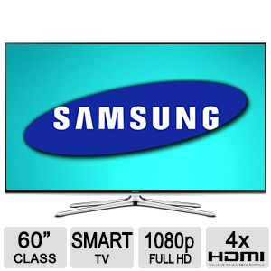 "Samsung 60"" 1080p 120Hz Smart LED HDTV"