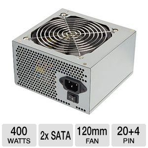 Ultra Lifetime Series 400W Power Supply REFURB