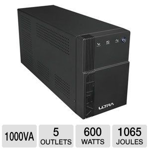 Ultra 5 Outlet 1000VA 600w UPS w/ AVR