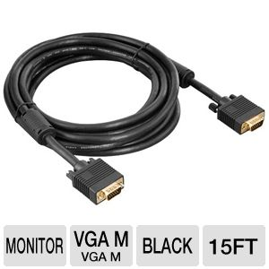 Ultra VGA Cable 15ft/4.5M 1920x1200 Max Res.