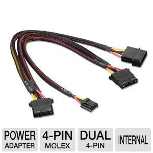 Ultra Int. 3-1 x Small 4 Pin Power Adapter Cable