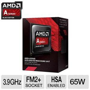 AMD A6-7400K Black Edition Processor - 3.9GHz