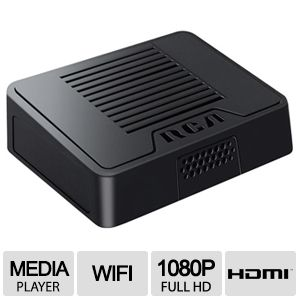 RCA WiFi Streaming Media Player 1080p Refurbished