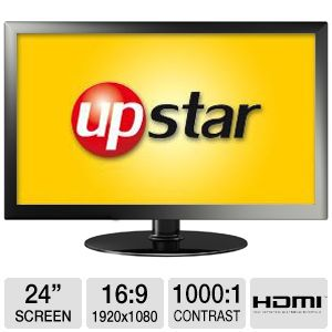 "UpStar 24"" Class 1920x1080 LED Monitor"