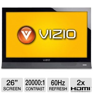 "Vizio E260VA 26"" 720p 60Hz LED HDTV"