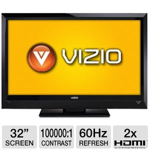 Vizio E321VL 32&quot; 720p 60Hz LCD HDTV Refurb
