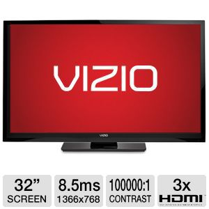 "Vizio E322AR 32"" 720p 60Hz LCD Smart HDTV Refurb"