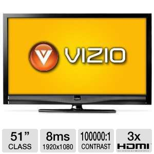 "Vizio E370VT 37"" 1080p 60Hz LED HDTV Refurb"