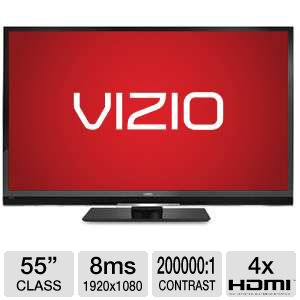 "Vizio M3D550SL 55"" LED 1080p 120Hz WiFi 3D HDTV"