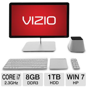 "Vizio 27"" Core i7 1TB HDD 8GB DDR3 All-In-One PC"