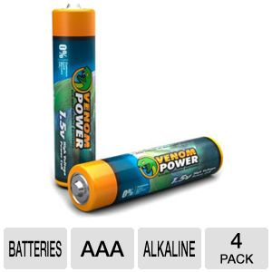 Venom VEN-1591 Eco- Friendly AAA 1.5 VOLT Battery