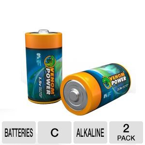 Venom VEN-1592 Eco- Friendly C 1.5 VOLT Battery