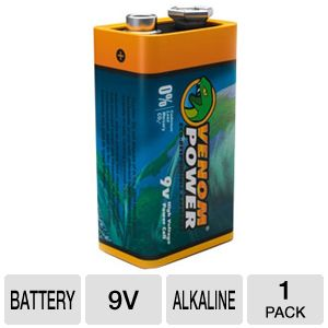 Venom VEN-1594 Eco- Friendly 9 VOLT Battery