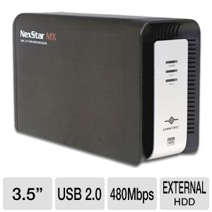 Vantec NST-400MX-S2 NexStar MX External Enclosure