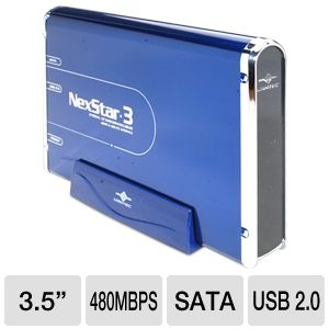 Vantec NexStar3 NST-360SU-BL HD Enclosure