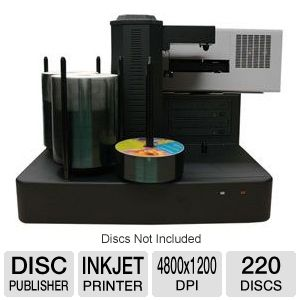 VinPower Cronus CD/DVD InkJet Disc Publisher