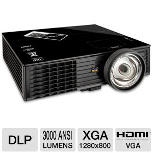 ViewSonic WXGA DLP Short Throw Projector