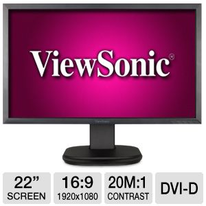 ViewSonic 22&quot; Class 1920x1080 LED Monitor